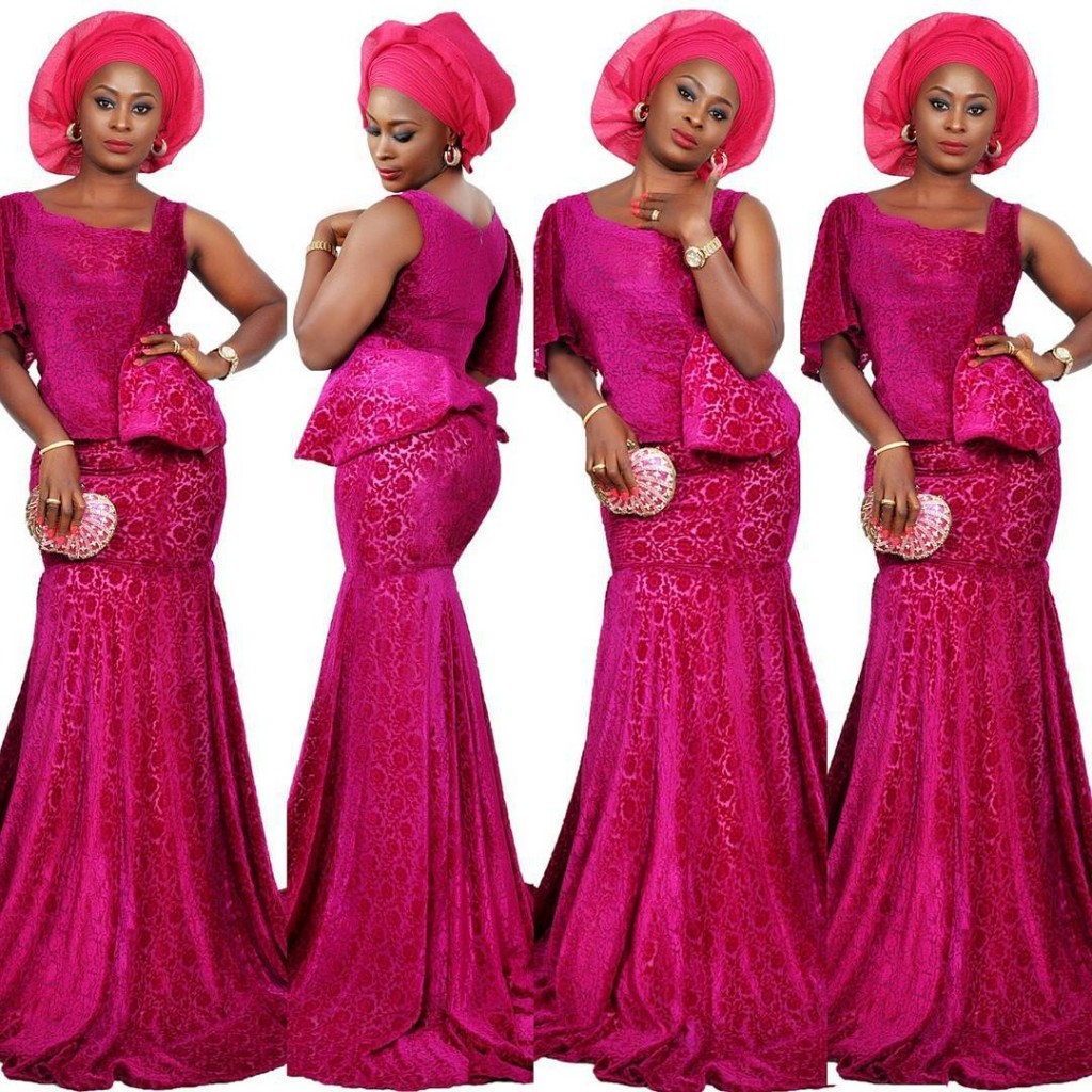 ankara%2Bstyle079 Evening Blouses For Wedding