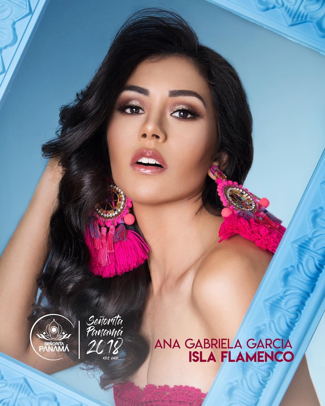 señorita miss colombia 2018 candidates candidatas contestants delegates Miss Isla Flamenco Ana Gabriela García