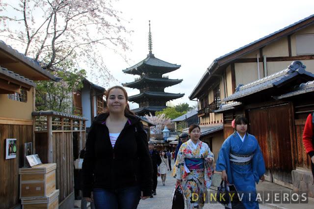 Pagoda Yakasa en Higashiyama
