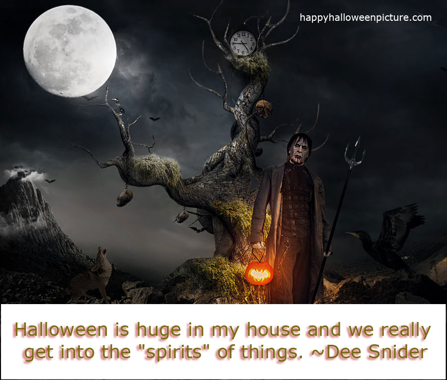 scary halloween quotes - Scary Halloween Quotes And Sayings