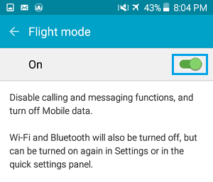 Why Airplane Mode in Android Exist