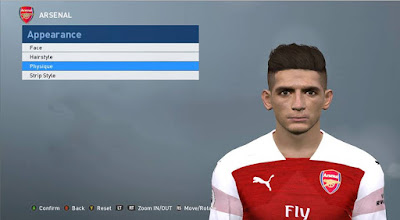 PES 2017 Faces Lucas Torreira by ABW_FaceEdit