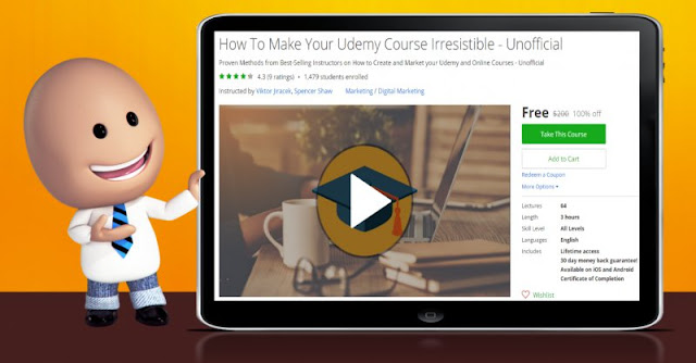 [100% Off] How To Make Your Udemy Course Irresistible - Unofficial| Worth 200$