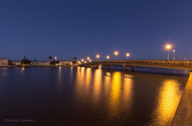Image: Copyright Vernon Chalmers - Main Bridge Before  Sunrise: Woodbridge Island, Cape Town