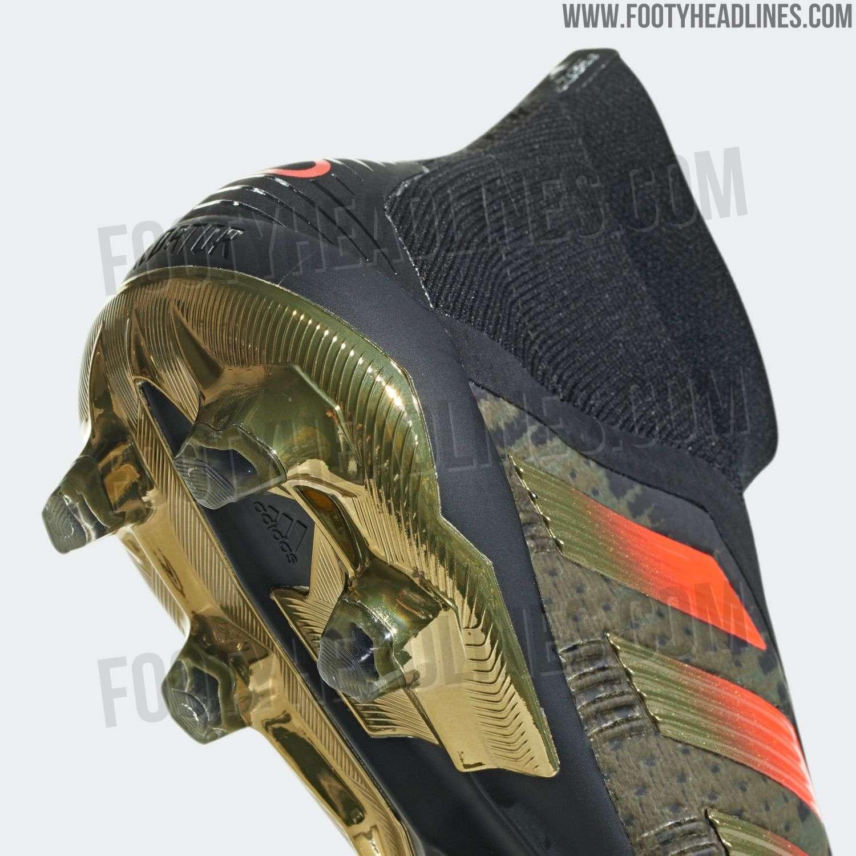 574eeea5c6e1 Adidas Predator 18+ Paul Pogba Season 4 2018-19 Signature Boots ...