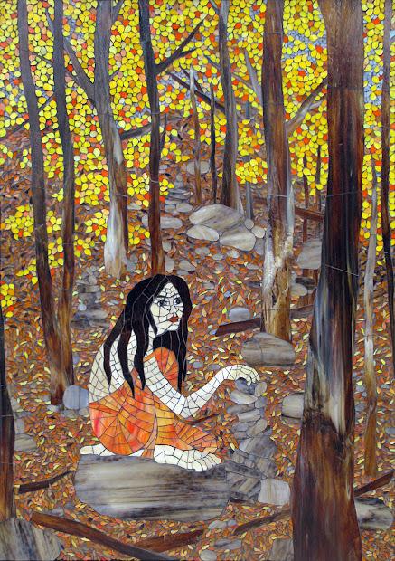 Kasia Mosaics Autumn Day