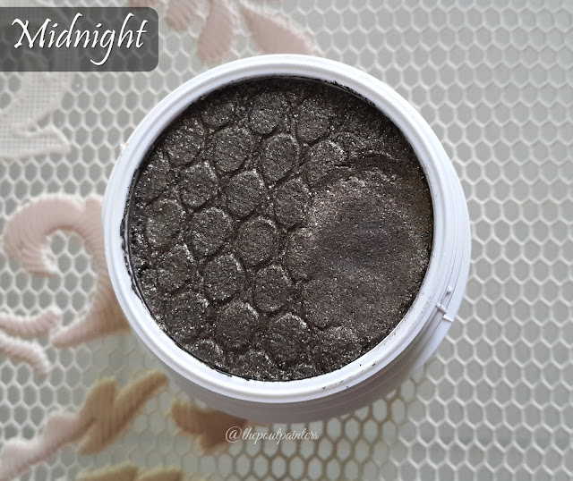 Colour Pop Super Shock Eyes Midnight Swatch