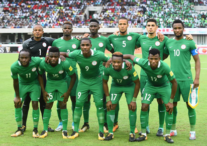 SPORT NEWS: Nigeria Drops 9 Places to be placed 50th in the latest  FIFA Ranking