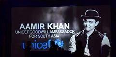 Amir khan - Goodwill Ambassador for UNICEF, visits birth place of Gautam Buddha in Nepal