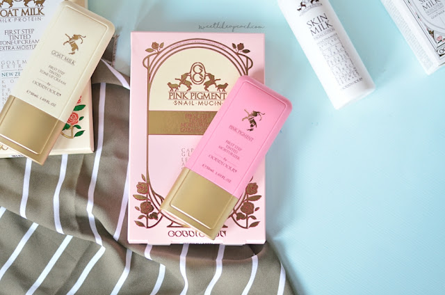 review Gobdigoun Pink Pigment First Step Tinted Moisturizer