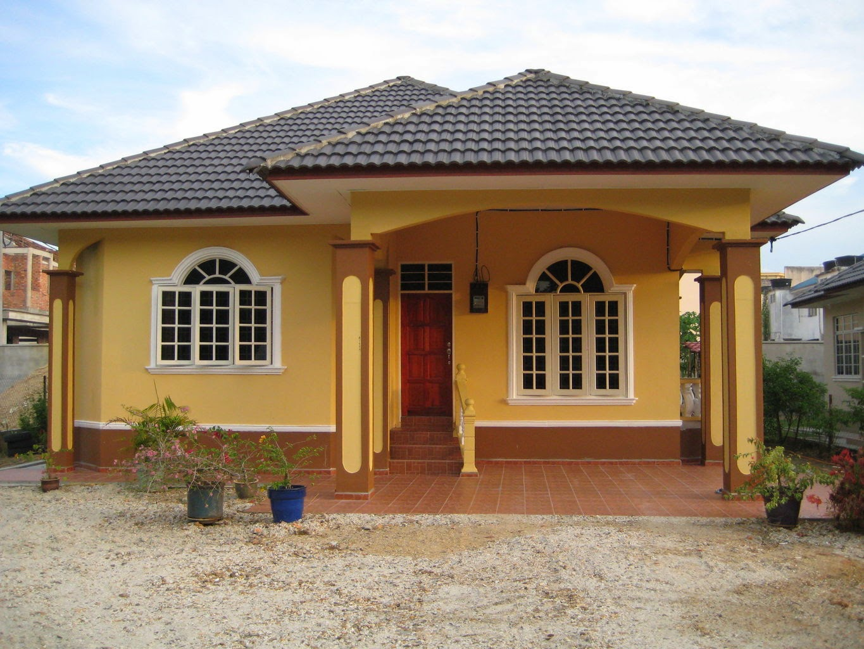 54 Desain Rumah Sederhana Di Kampung Minimalis Dan Modern