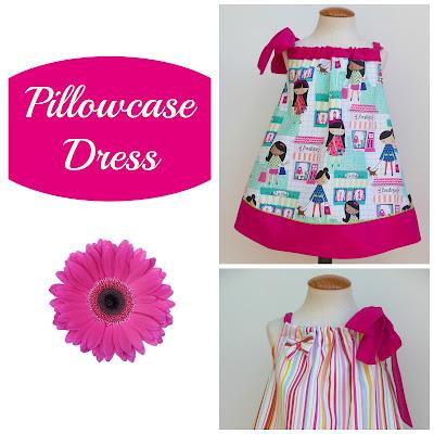 Tutorial para coser vestido pillowcase para niña