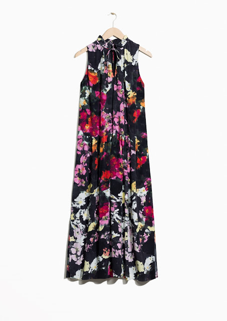 and other stories floral print dress