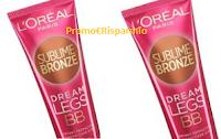 Logo Partecipa e diventa tester L'Oreal Sublime Bronze Dream Legs BB