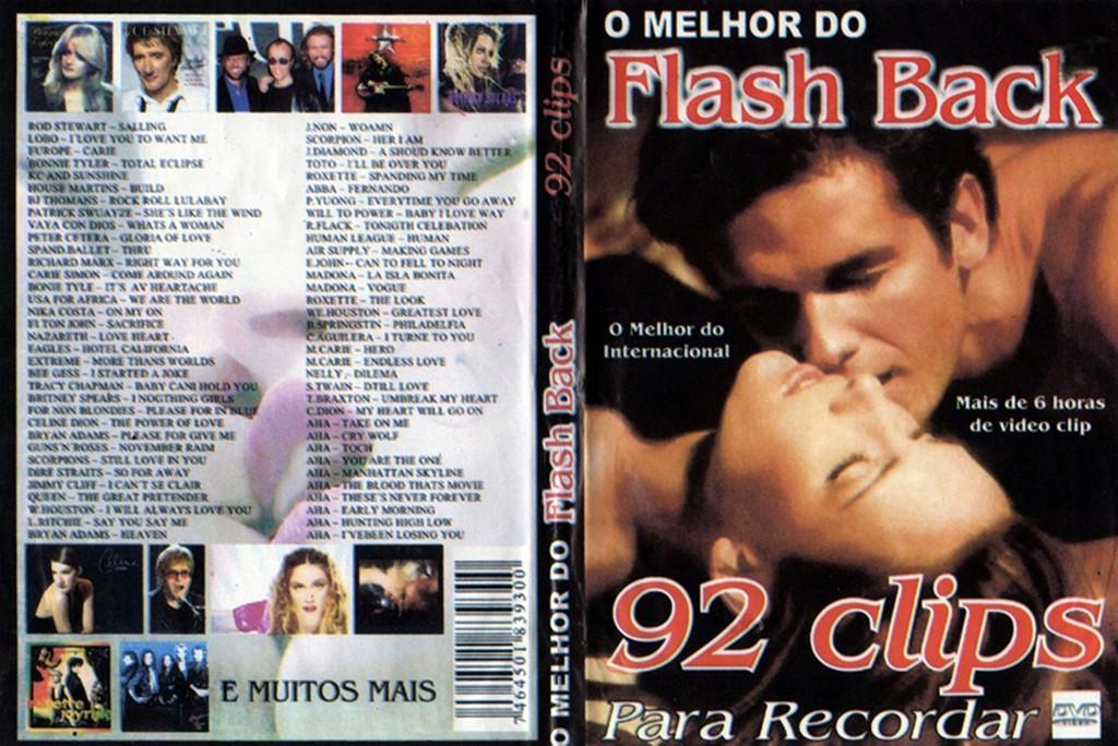 audio dvd melhor flash back 92 clips recordar