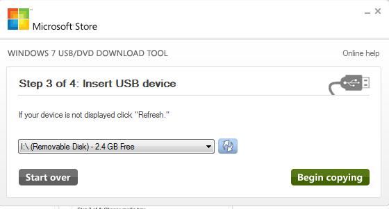 Booting Windows 7 Dari Flash Disk Dengan Mudah