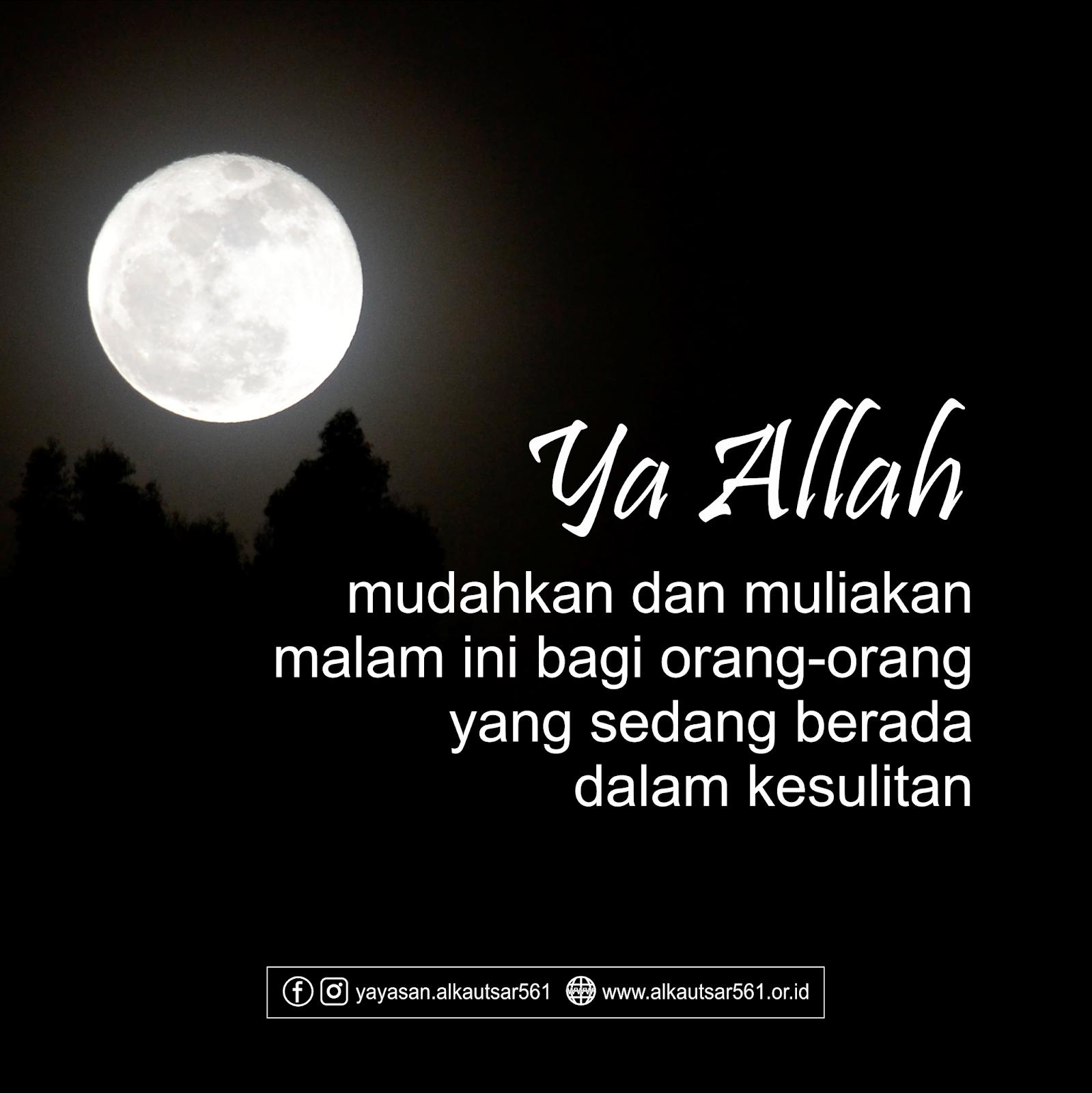 Kata Doa Malam Hari Islami Nusagates