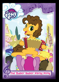 My Little Pony The Super Duper Party Pony Series 5 Trading Card