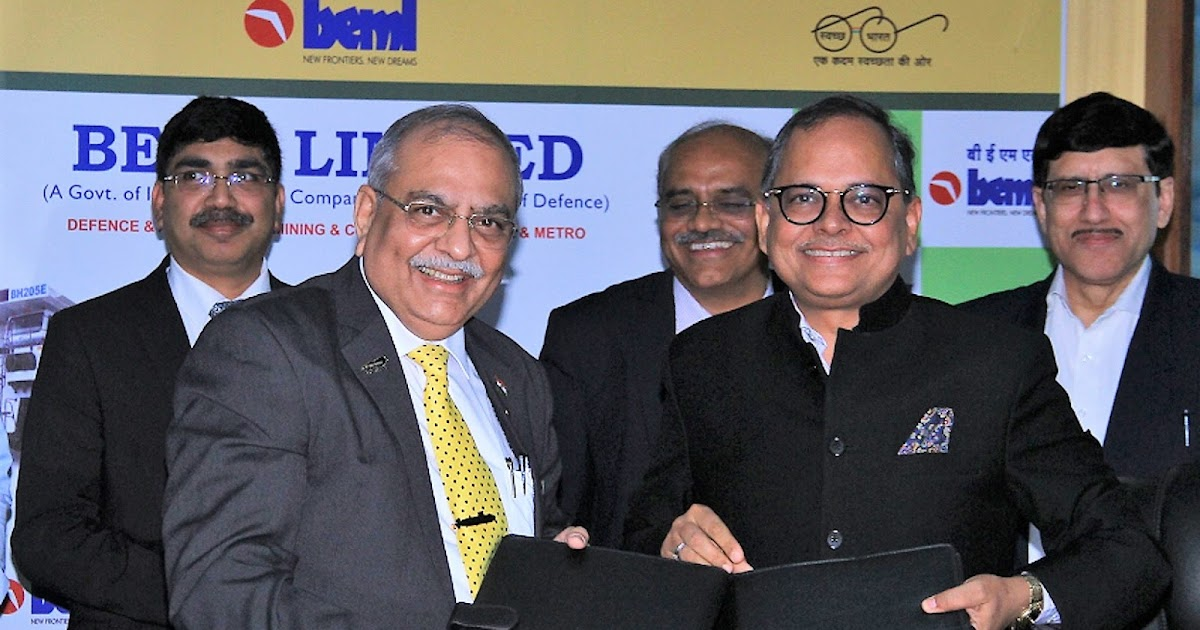 L&t, Beml Sign Mou To Address Indigenisation Of Products, Projects, Systems And Services In Indian Defence Market