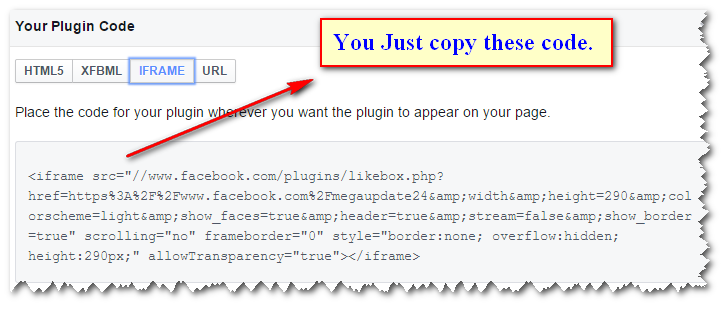 How to add Facebook Like or Fan Box in Blogger Layout3