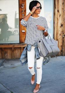 Peça branca é um essencial - calças brancas