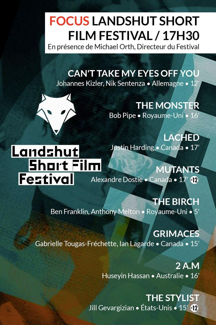 Focus Landshut Short Film Festival du samedi 24 février