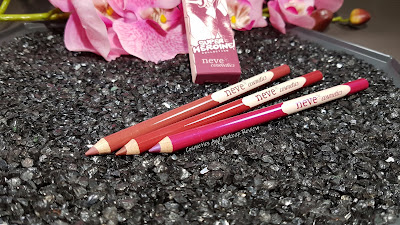 Neve Cosmetics – SuperHeroine Collection - Pastello Labbra - Precision Lipstick Pencils