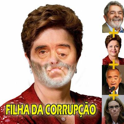 Resultado de imagem para DILMA CORRUPTA