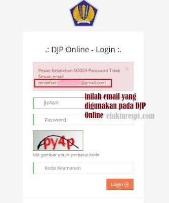 Cara Cek Email DJP Online Tanpa Login