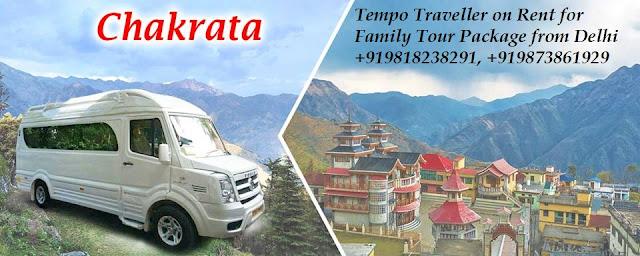Tempo Traveller on Rent from Delhi NCR to Chakrata Trip in Uttarakhand