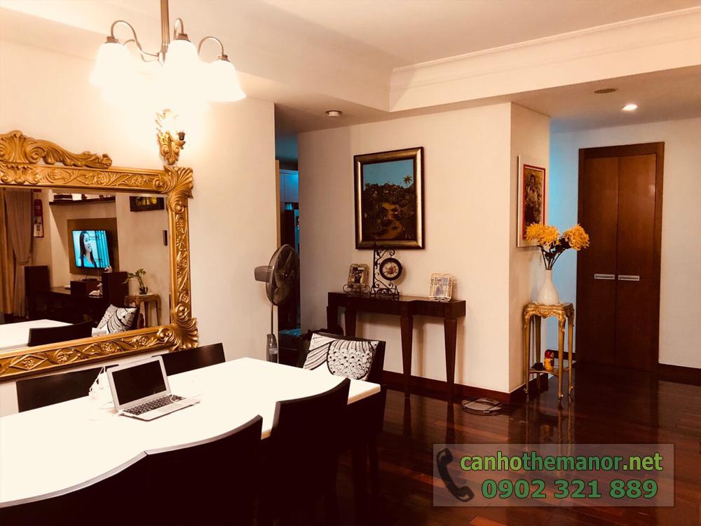 BÁN căn hộ 3PN, 157m2 nội thất siêu đẹp tại The Manor 1 HCM - hình 5