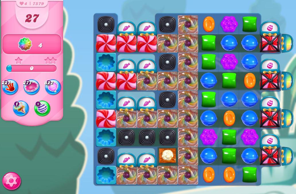 Candy Crush Saga level 7579