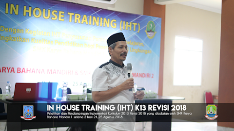 In House Training (IHT) K13 Revisi 2018