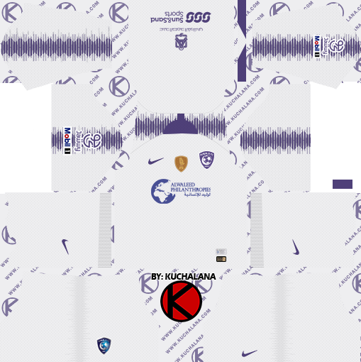 abe1f59fc8c Al-Hilal FC kits 2019 - Dream League Soccer Kits - Kuchalana