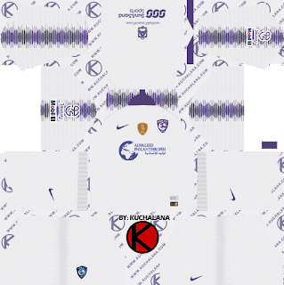 Al-Hilal FC kits 2019 - Dream League Soccer Kits