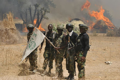 boko haram camps destroyed borno state