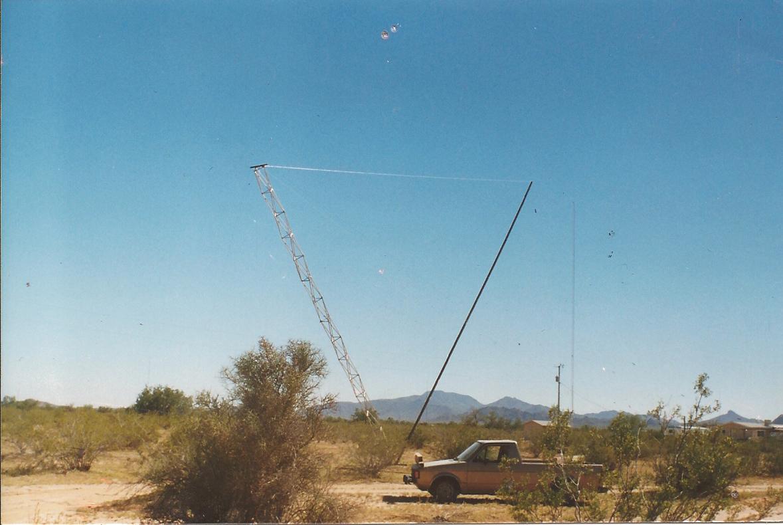 w7yrv - Roy's Antenna Farm : Nine rhombics antennas