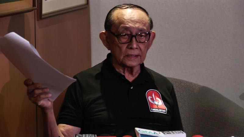 Fidel V. Ramos resigned as special envoy to china