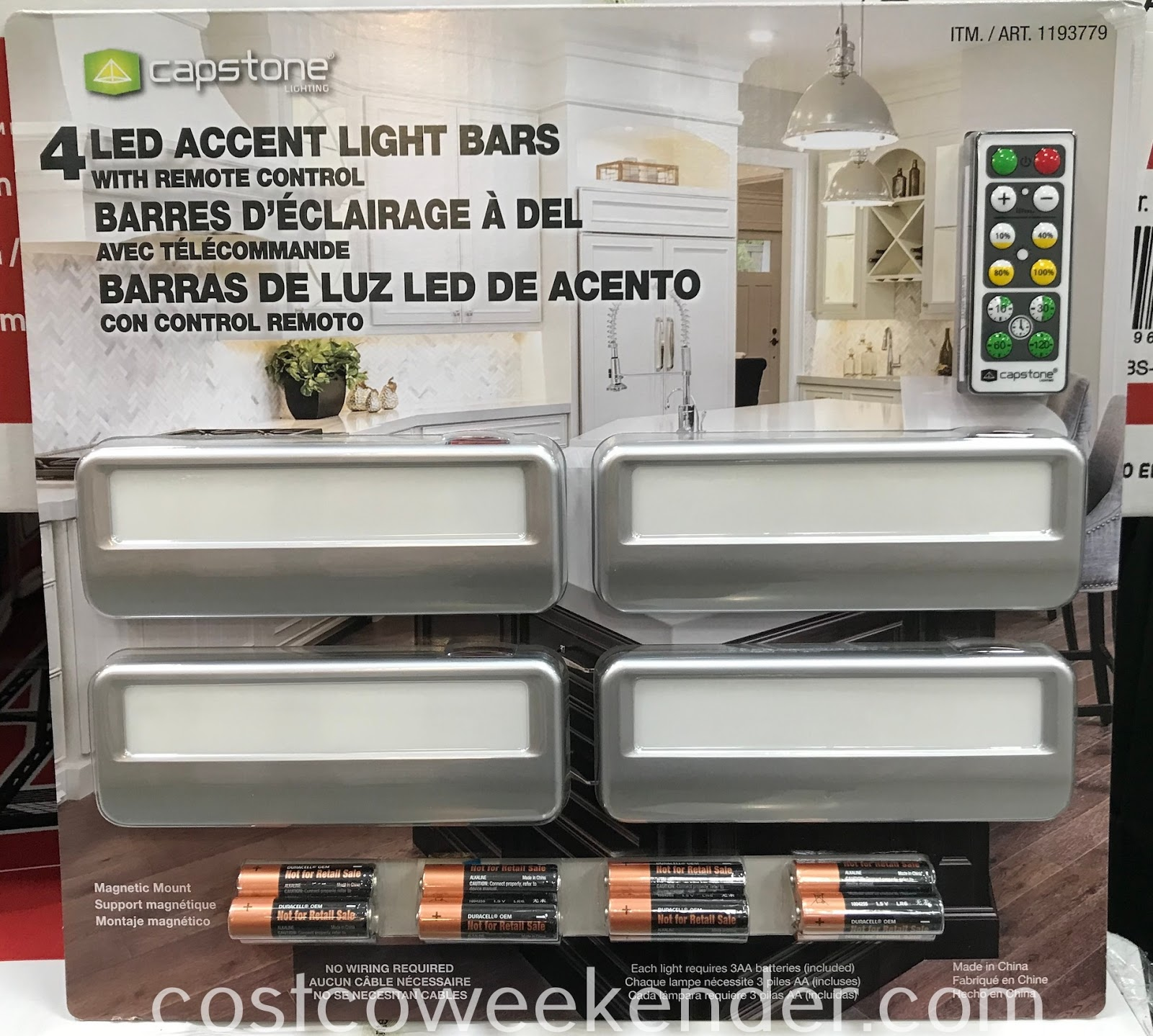 Highlight certain parts of your home with Capstone LED Accent Light Bars