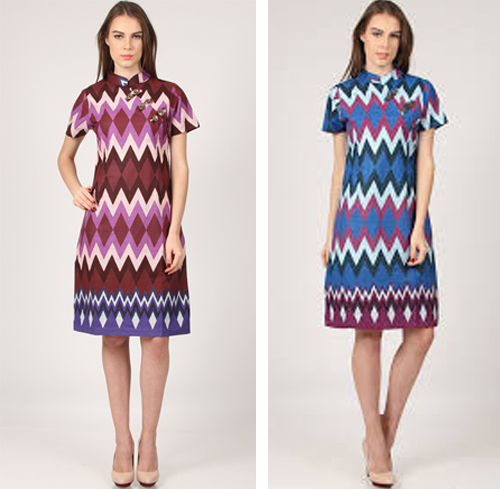 gambar model baju motif rangrang