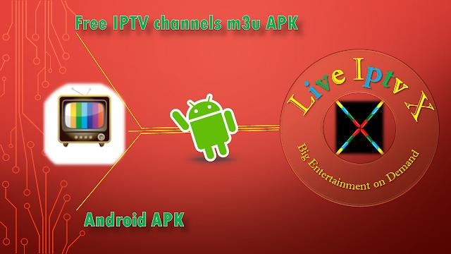 free IPTV  m3u APK