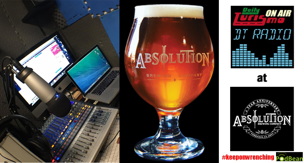 DT Radio Show: Live From Absolution Brewing In Torrance, CA -- Friday, Sept 23, 2016