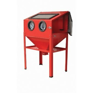 cheap sandblasting cabinet for powder coating