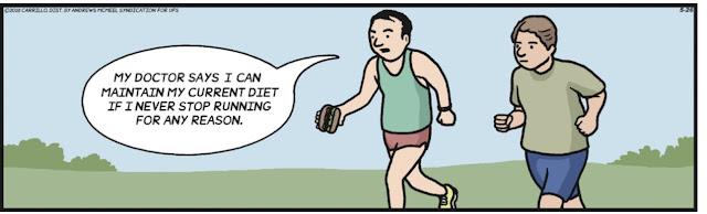 Graham Sedam, blog, thoughts, life, interests, F Minus, running, eating, run streak, a mile or more
