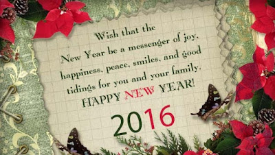 New Year Messages 2016
