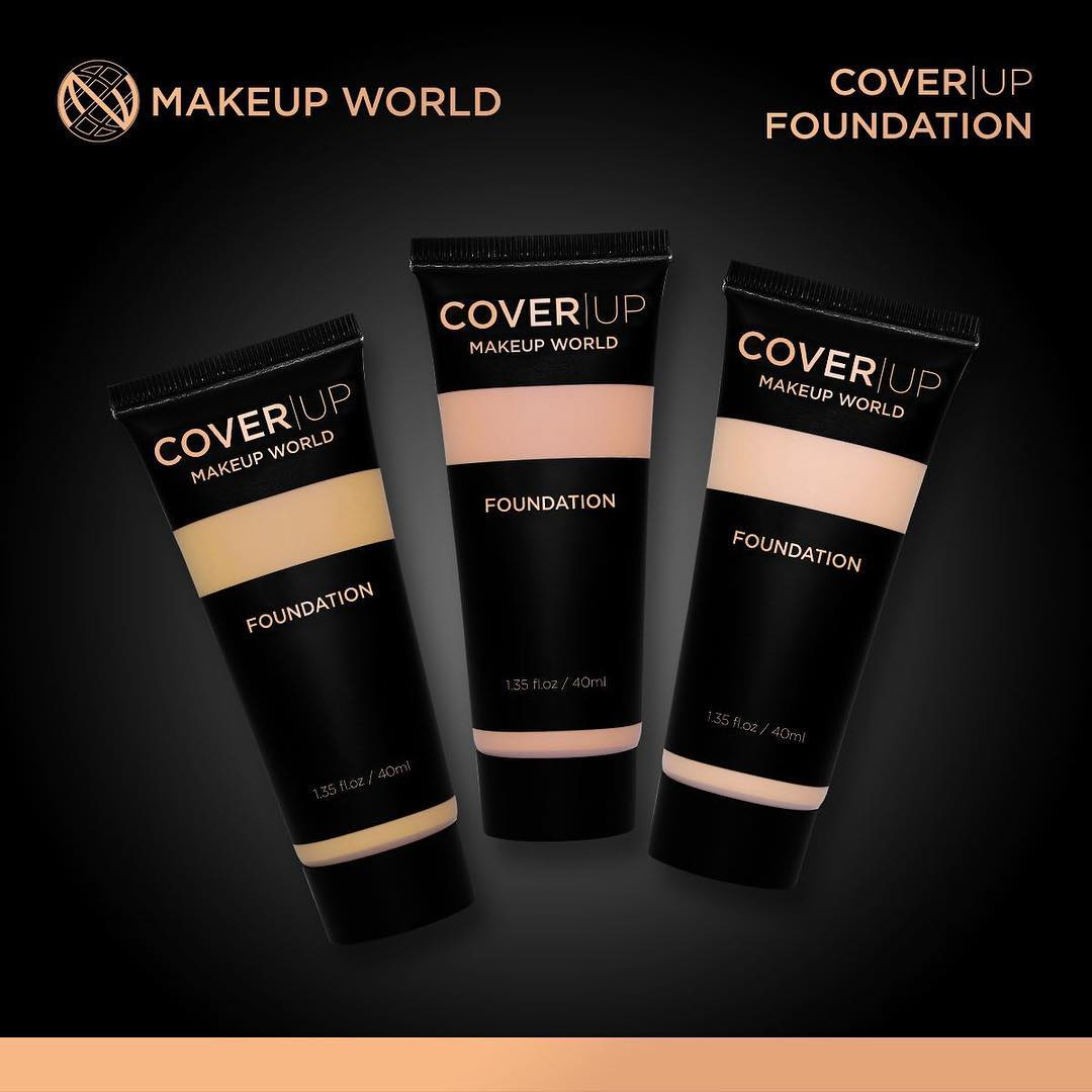 Makeup World Cover Up Foundation