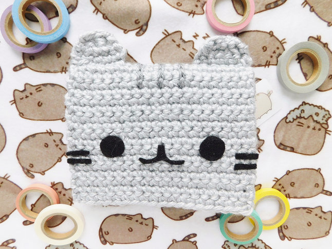 Pusheen Card Crochet Pattern