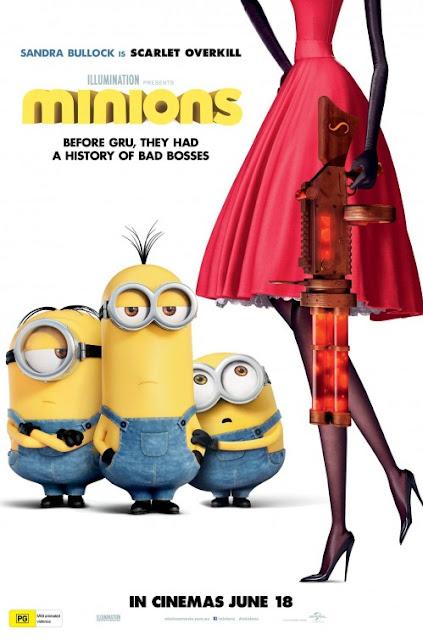 Otro Cartel de la película Los Minions