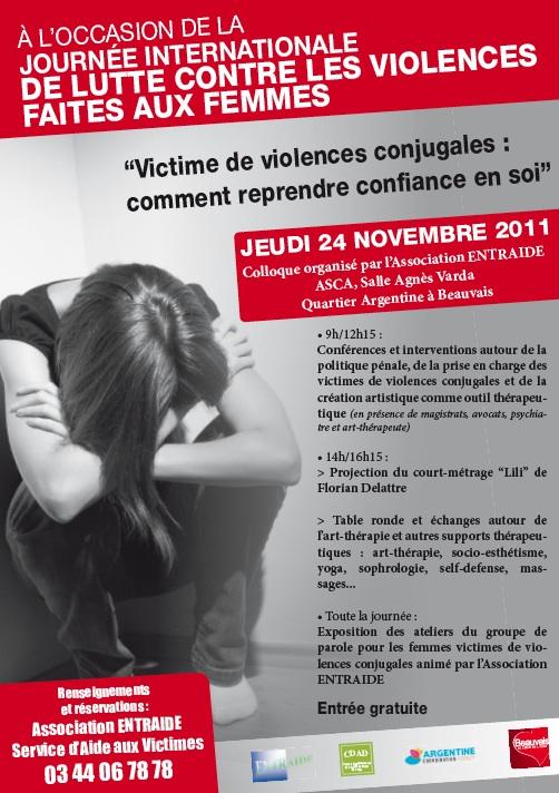 stop aux violences familiales conjugales et sexuelles colloque beauvais le 24 novembre 2011. Black Bedroom Furniture Sets. Home Design Ideas
