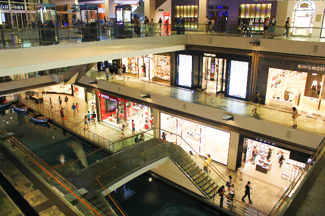 the shoppes singapura
